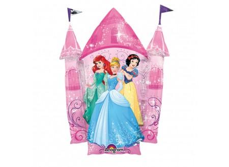 Palloncino Multi Principesse nel castello Supershape