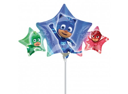 Palloncini in Mylar Mini Shape PJ MASKS