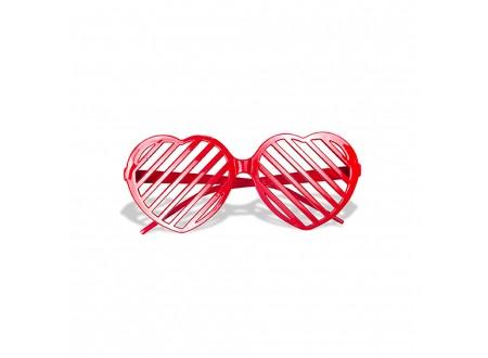 Occhiale Cuore rosso - pz. 1