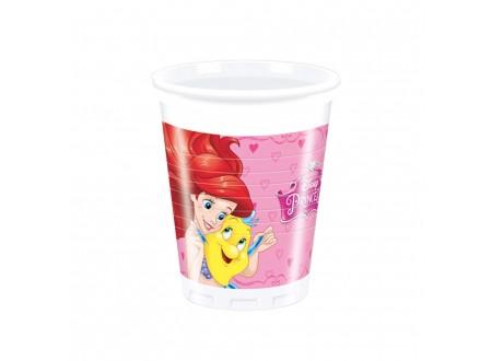 Bicchiere plastica ML 200 Princess cf. 8