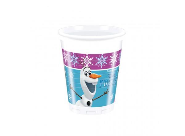 Bicchiere plastica ML 200 Frozen cf. 8