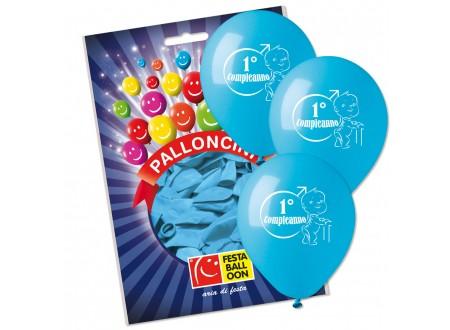 Palloncini Medium I° Compleanno Bimbo cf. 16