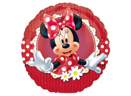 "Palloncino Round 9"" Mad About Minnie"