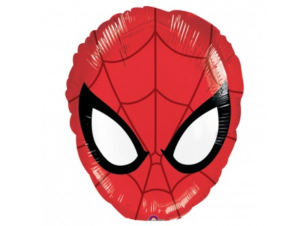 Palloncino Mini Shape Ultimate Spiderman Head