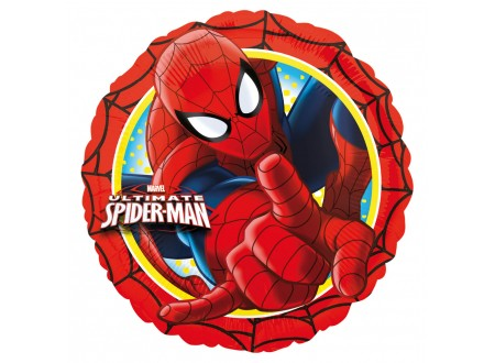 Pallone Spiderman Action 40 FOIL - 18""