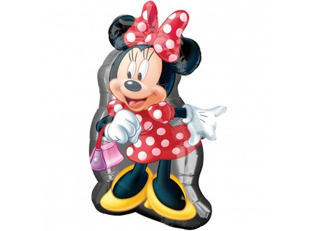 Pallone MINNIE FULL BODY 40 FOIL - SUPERSHAPE