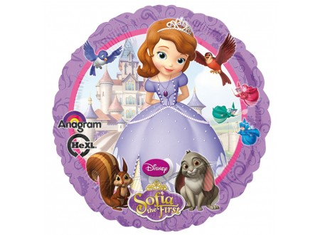 Pallone SOFIA THE FIRST 40 FOIL - 18""