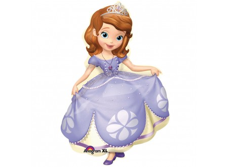 Pallone SOFIA THE FIRST POSE 40 FOIL - SUPERSHAPE