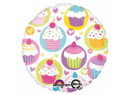 Pallone CupCake Party 40 FOIL - 18""
