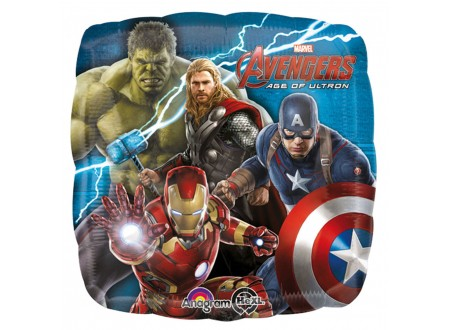 """Pallone Avengers Age of Ultron 40 FOIL - 18"""""""