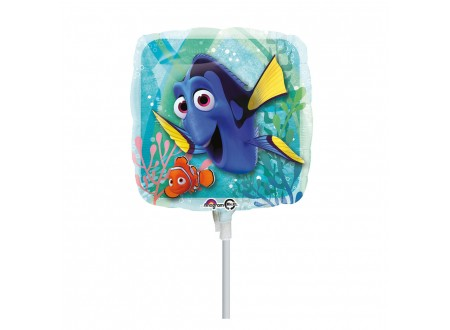 """Palloncino in Mylar Finding Dory Square 9"""""""