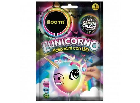 """Palloncini Led """"Illooms"""" - unicorno cf. 1"""