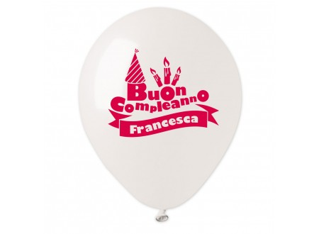 Palloncini Buon Compleanno Francesca