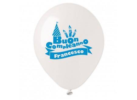 Palloncini Buon Compleanno Francesco