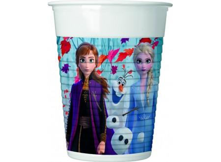 Frozen 2 - Bicchiere plastica ML 200 cf. 8