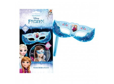 Maschera Fluo Frozen