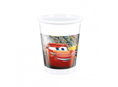 Bicchiere plastica ML 200 Cars 3 - cf. 8